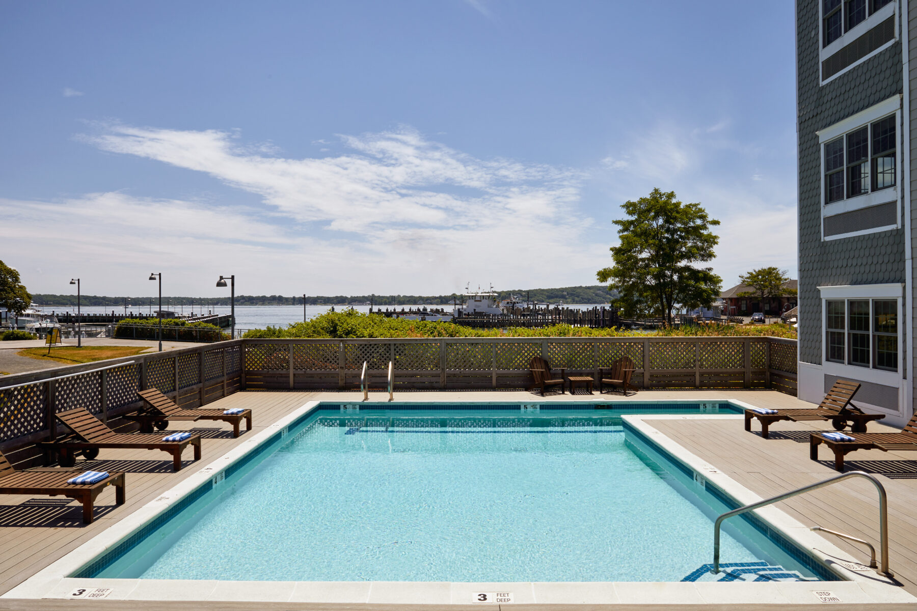 Harborfront Inn pool