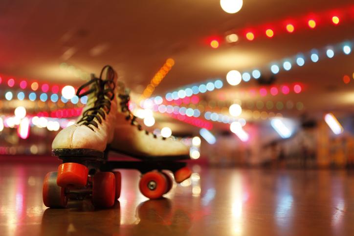 Rollerskates in the Roller Disco