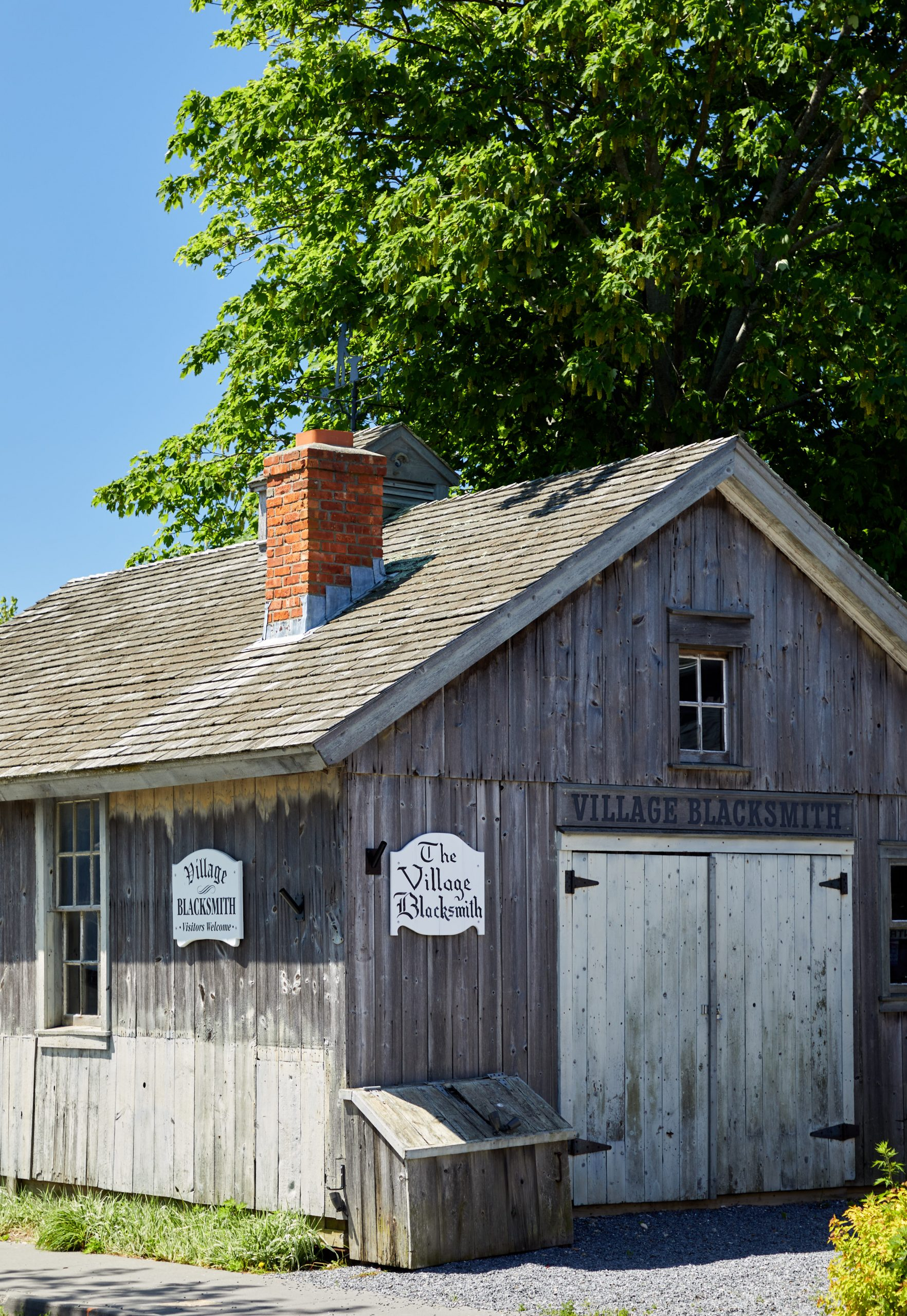 The Village Blacksmith building